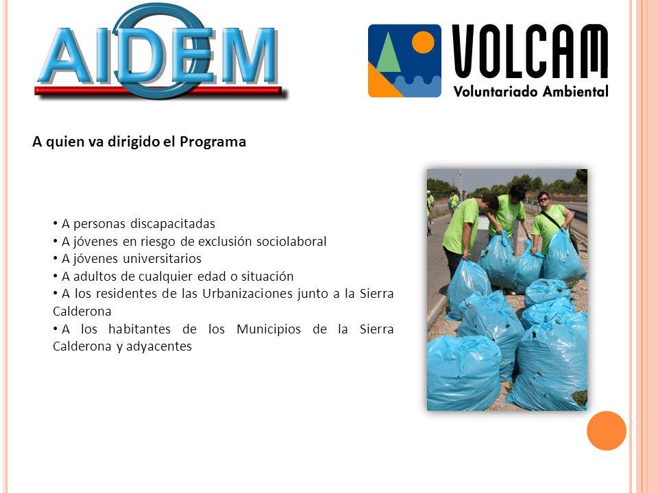 Organización de la vigilancia y limpieza Cada uno de los turnos se ha organizado en la presente campaña por la tarde.