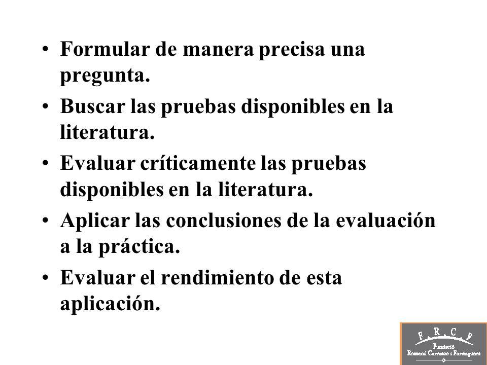 Recursos Revistas secundarias o de resúmenes: ACP.