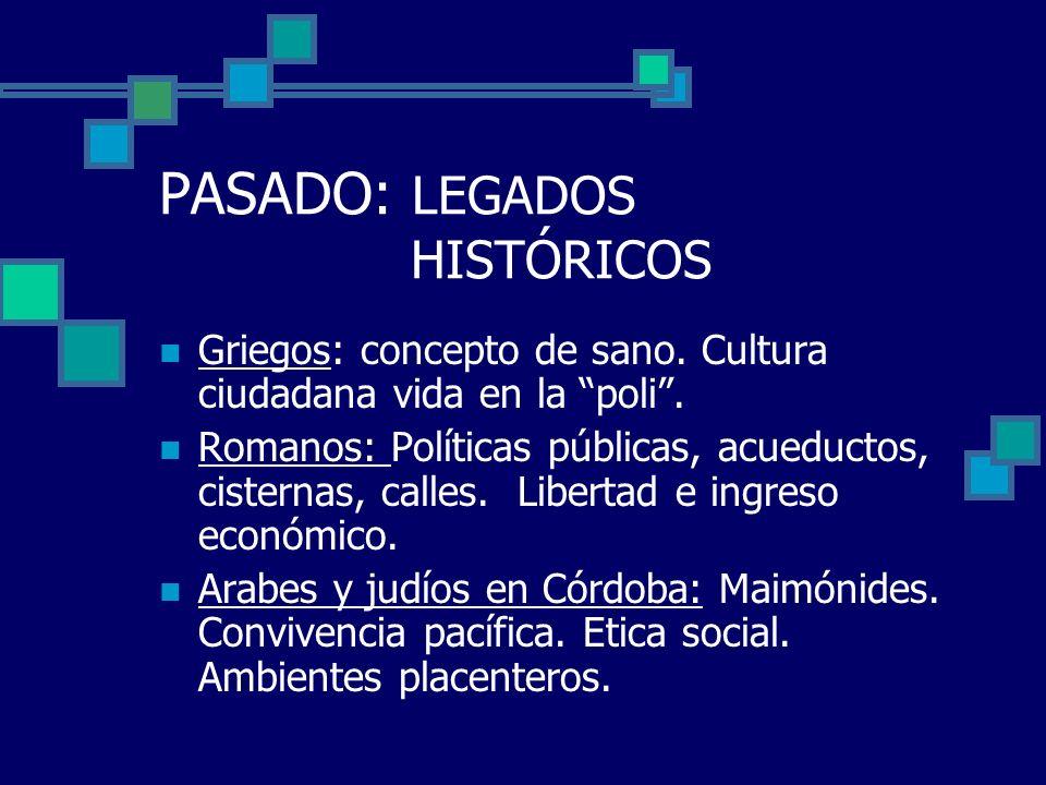 PASADO: LEGADOS HISTÓRICOS Civilizaciones indígenas pre-colombinas: conceptos de salud y enfermedad avanzados.