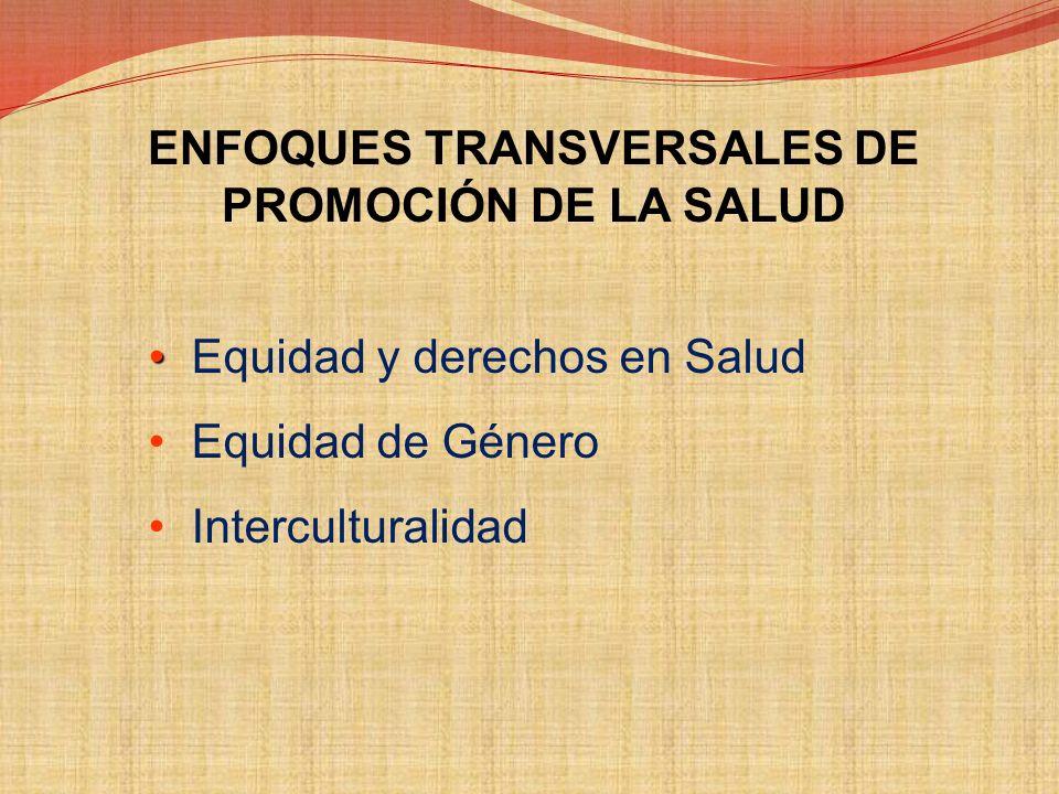 LINEAMIENTOS DE POLÍTICA DE PROMOCIÓN DE LA SALUD 1. Desarrollar alianzas intra e intersectoriales para la promoción de la salud 2. Mejorar las condic