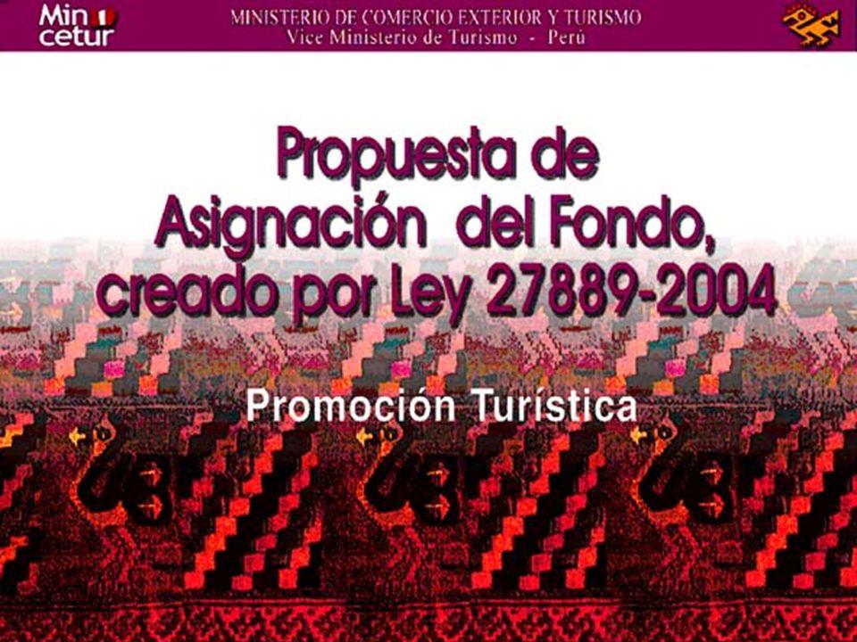 Cuantificación del Fondo Promocional 2004