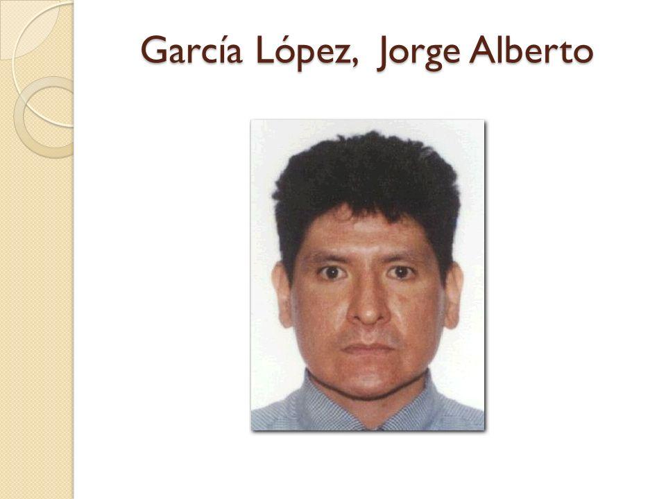 García López, Jorge Alberto