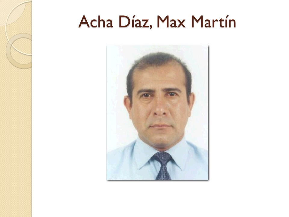 Acha Díaz, Max Martín