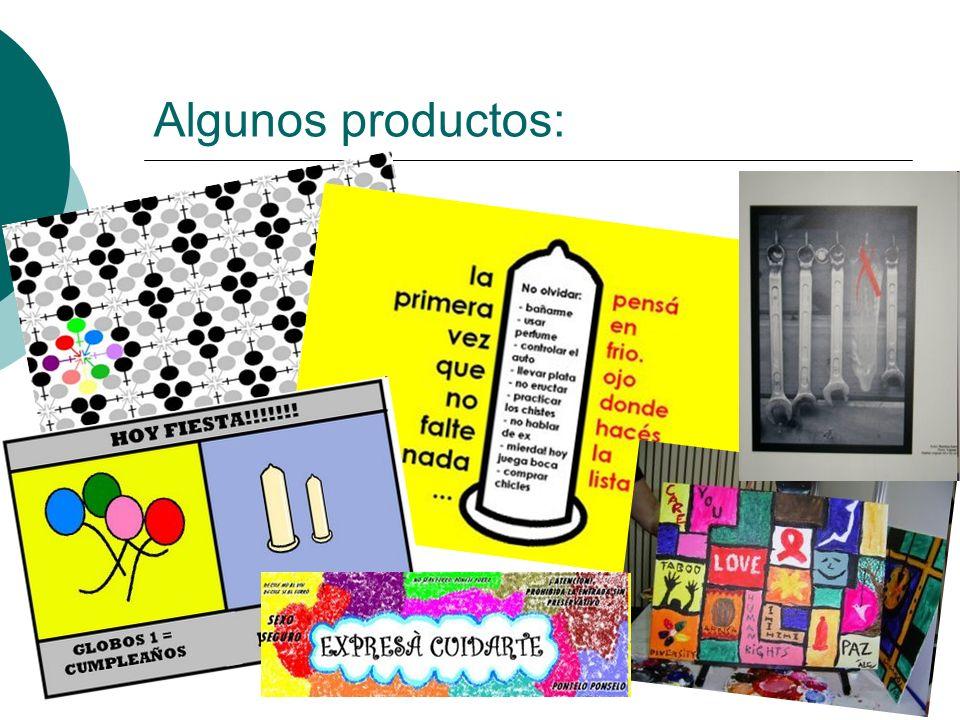 Algunos productos: