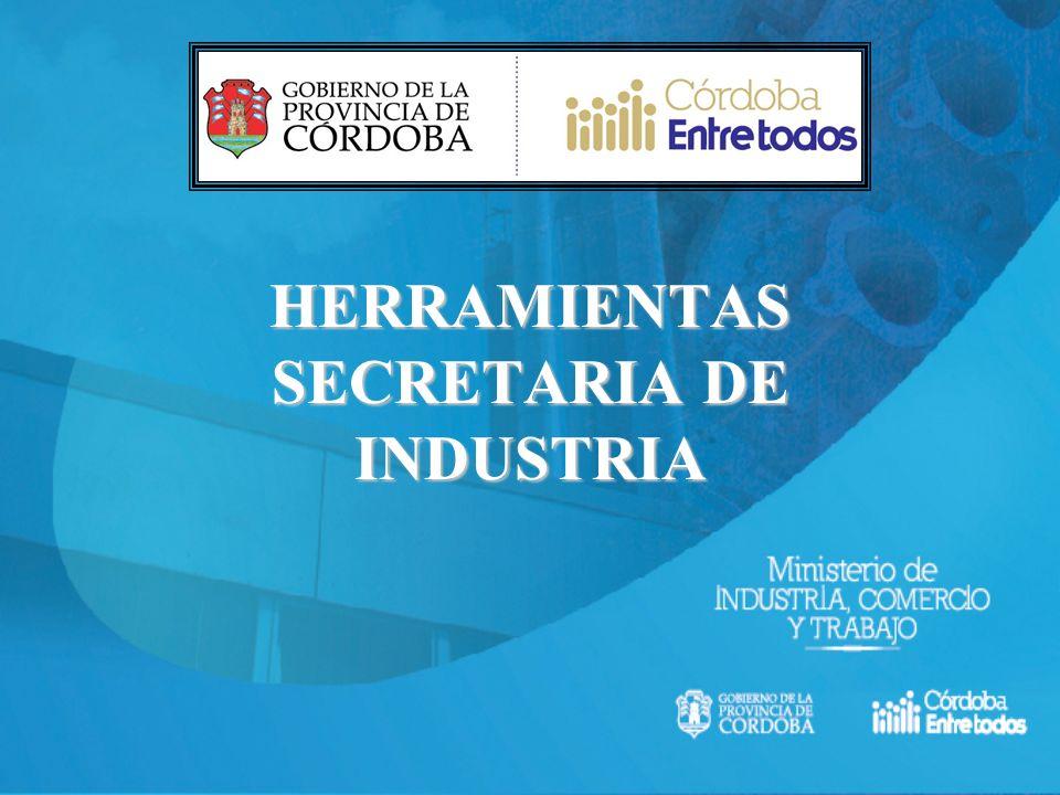 HERRAMIENTAS SECRETARIA DE INDUSTRIA