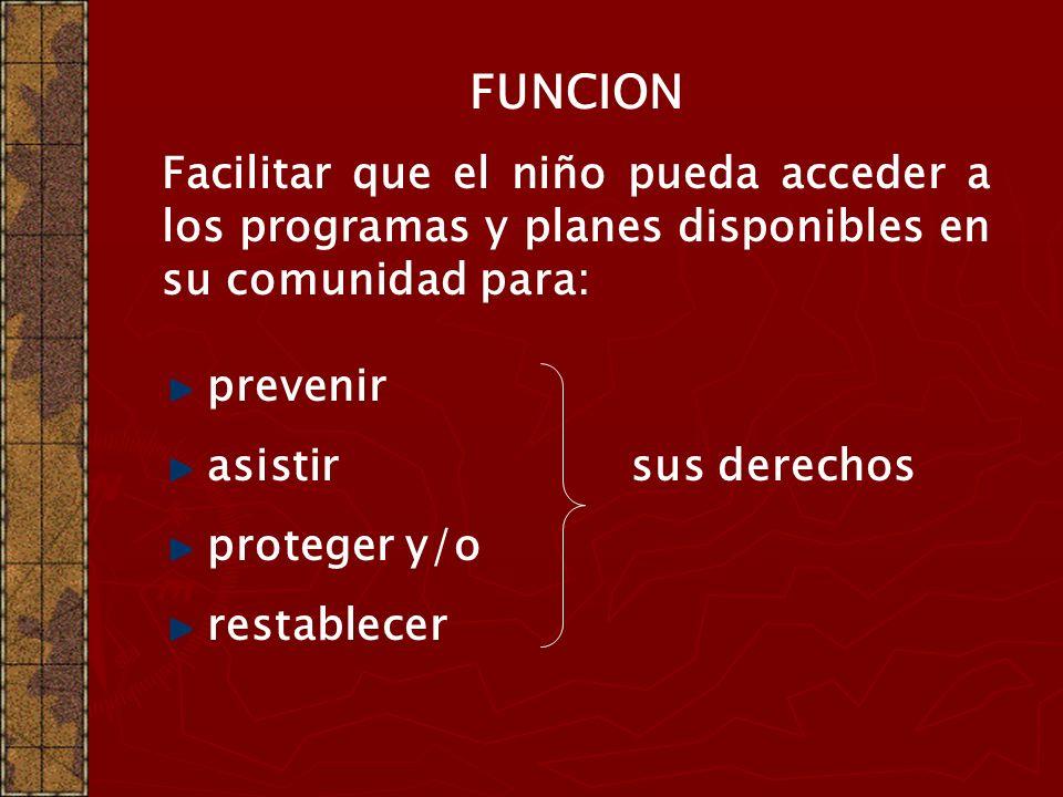 SERVICIOS LOCALES DE PROMOCIÓN Y PROTECCIÓN DE DERECHOS