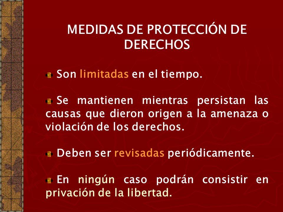 Los Servicios Locales deben disponer, entre otros, de los siguientes PROGRAMAS DE PROTECIÓN DE DERECHOS Asistencia técnico jurídica. Localización. Ori