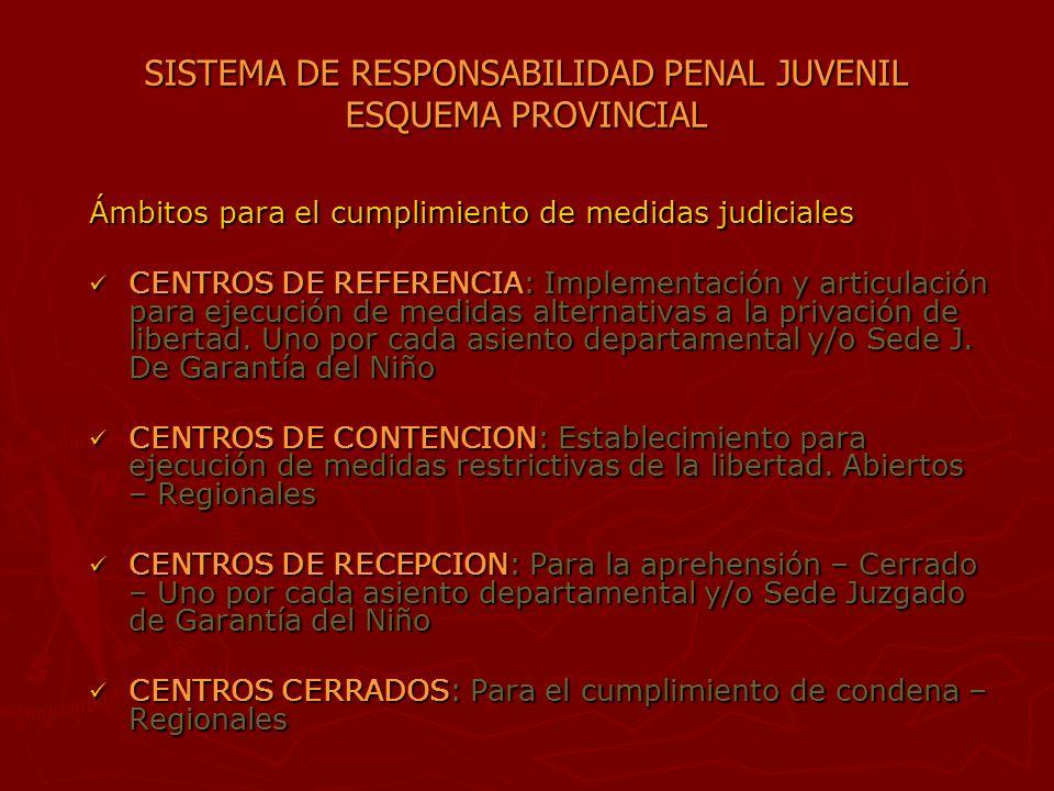 SISTEMA DE RESPONSABILIDAD PENAL JUVENIL CONJUNTO DE ORGANISMOS, ENTIDADES Y SERVICIOS QUE: CONJUNTO DE ORGANISMOS, ENTIDADES Y SERVICIOS QUE: - Formu