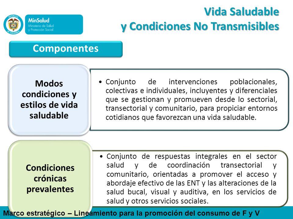 Conjunto de intervenciones poblacionales, colectivas e individuales, incluyentes y diferenciales que se gestionan y promueven desde lo sectorial, tran