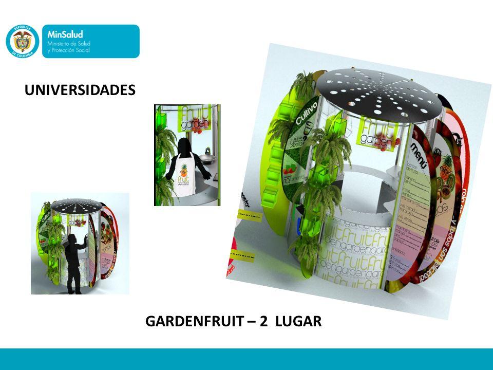 UNIVERSIDADES GARDENFRUIT – 2 LUGAR