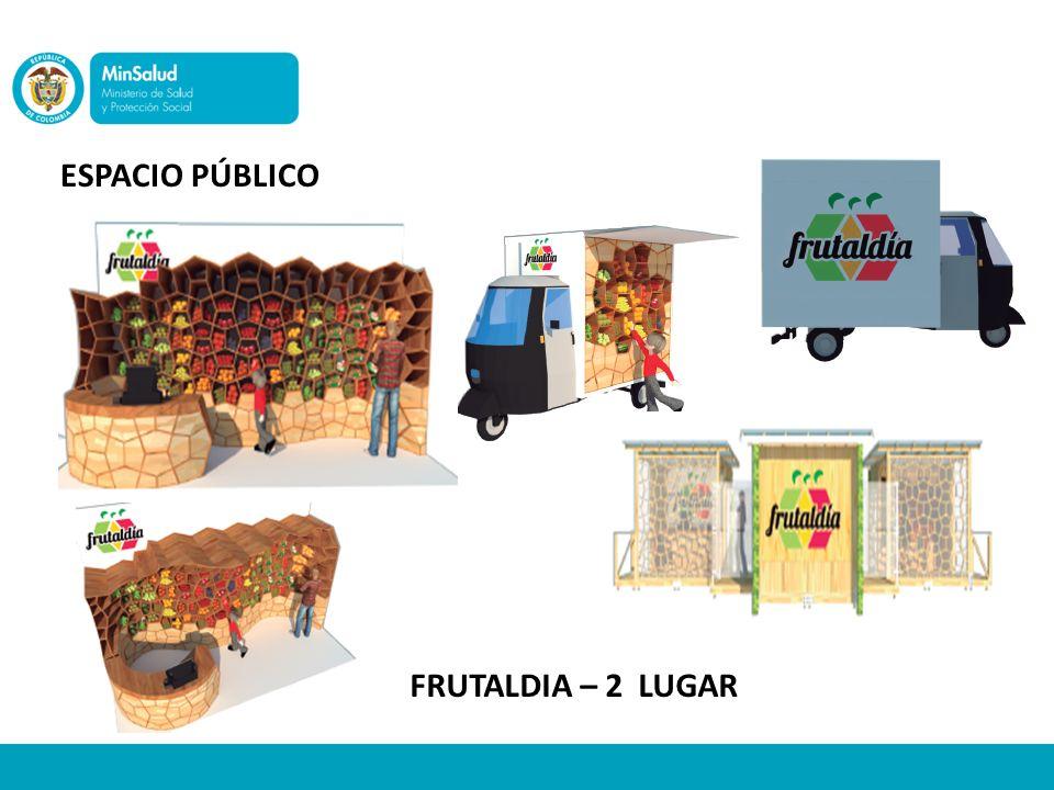 ESPACIO PÚBLICO FRUTALDIA – 2 LUGAR