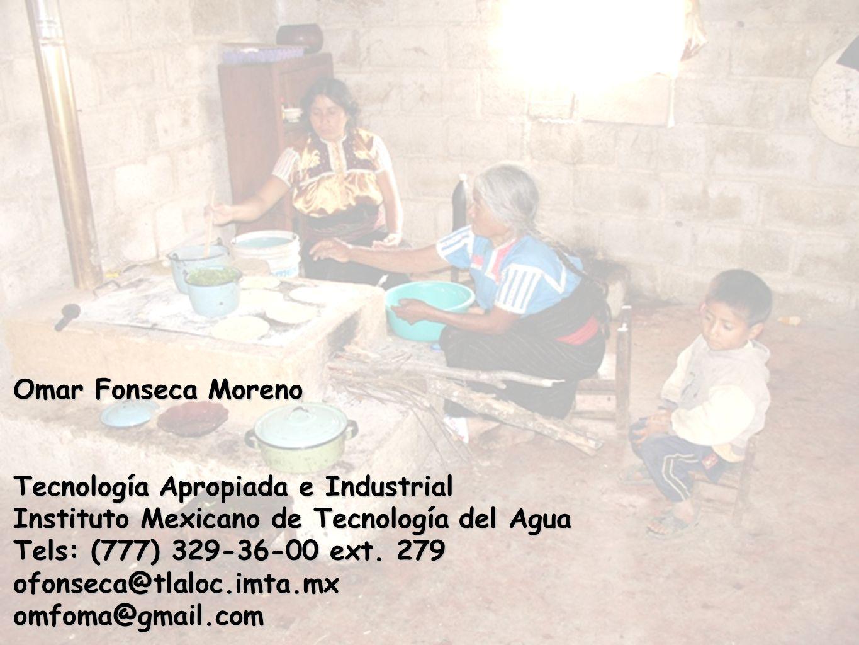 Apropiación y socialización de tecnologías apropiadas al medio rural Omar Fonseca Moreno Tecnología Apropiada e Industrial Instituto Mexicano de Tecno