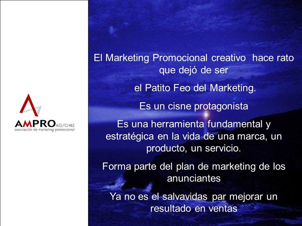 El Marketing Promocional creativo hace rato que dejó de ser el Patito Feo del Marketing. Es un cisne protagonista Es una herramienta fundamental y est