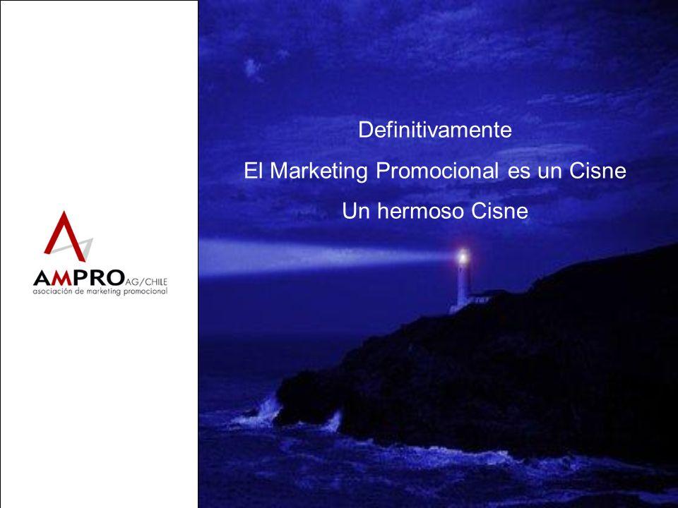 Definitivamente El Marketing Promocional es un Cisne Un hermoso Cisne