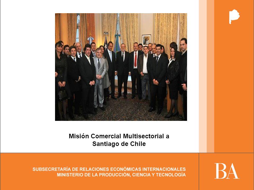 Misión Comercial Multisectorial a Santiago de Chile