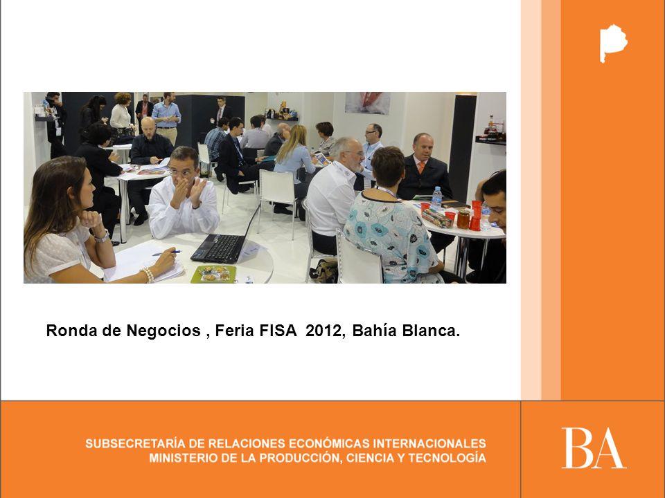 Ronda de Negocios, Feria FISA 2012, Bahía Blanca.