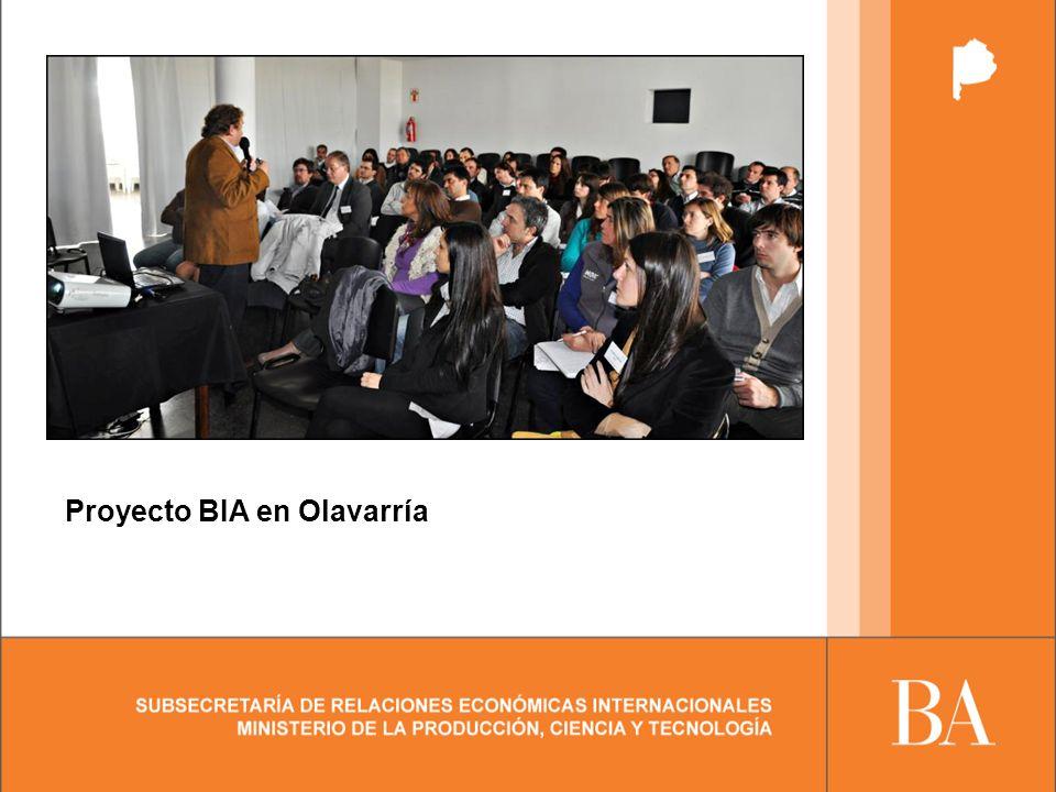 Proyecto BIA en Olavarría