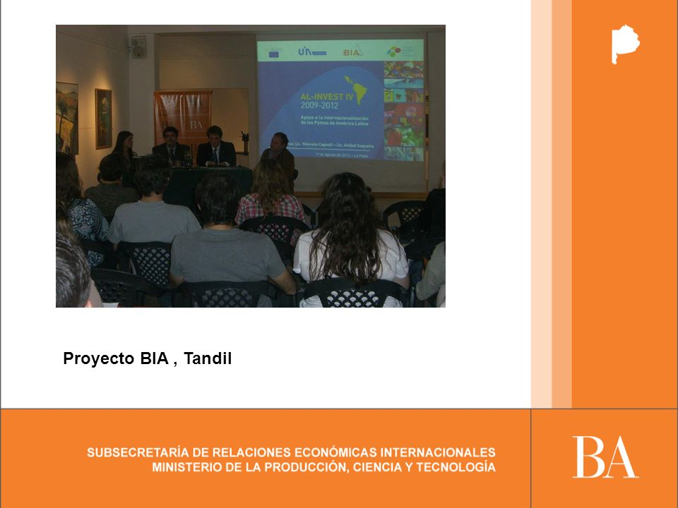 Proyecto BIA, Tandil