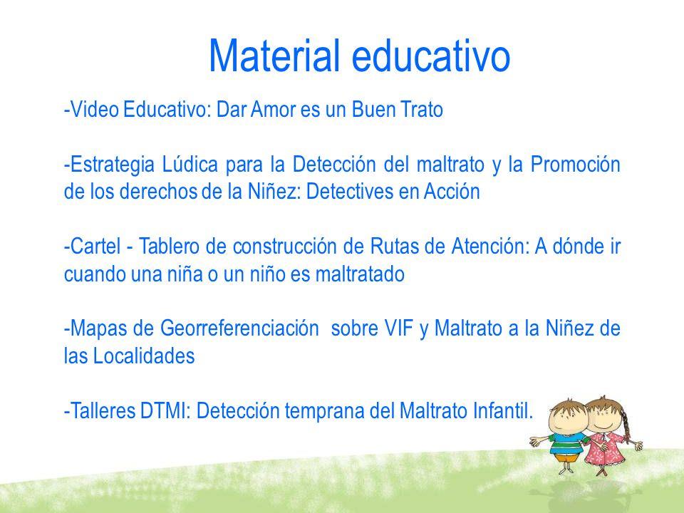 -Video Educativo: Dar Amor es un Buen Trato -Estrategia Lúdica para la Detección del maltrato y la Promoción de los derechos de la Niñez: Detectives e