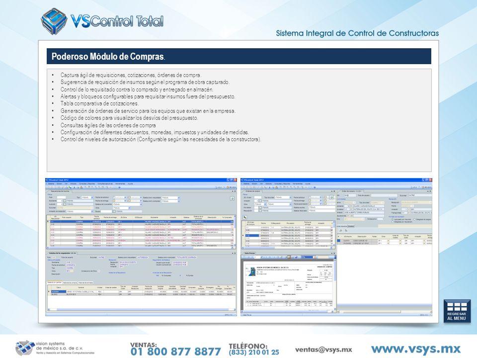Versátil Control de Obra.Control de las estimaciones a partir del presupuesto.