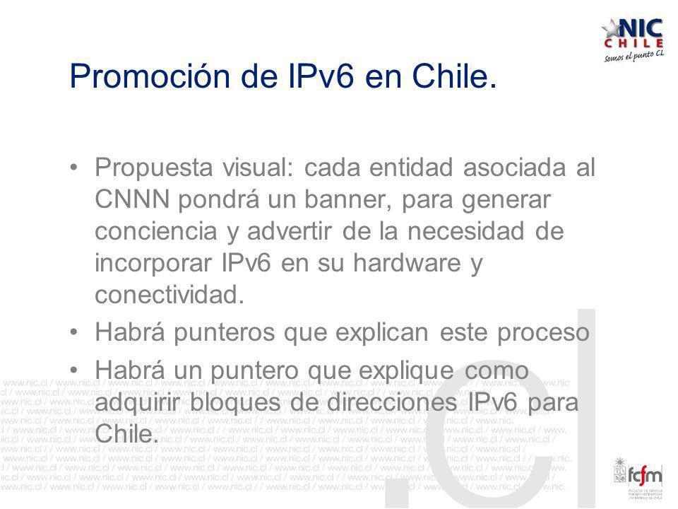 Promoción de IPv6 en Chile.