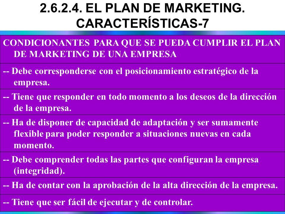 CONDICIONANTES PARA QUE SE PUEDA CUMPLIR EL PLAN DE MARKETING DE UNA EMPRESA -- Debe corresponderse con el posicionamiento estratégico de la empresa.