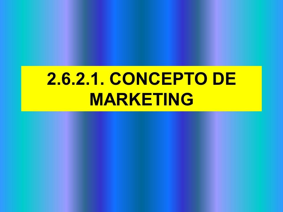 2.6.2.4.EL PLAN DE MARKETING. CARACTERÍSTICAS.
