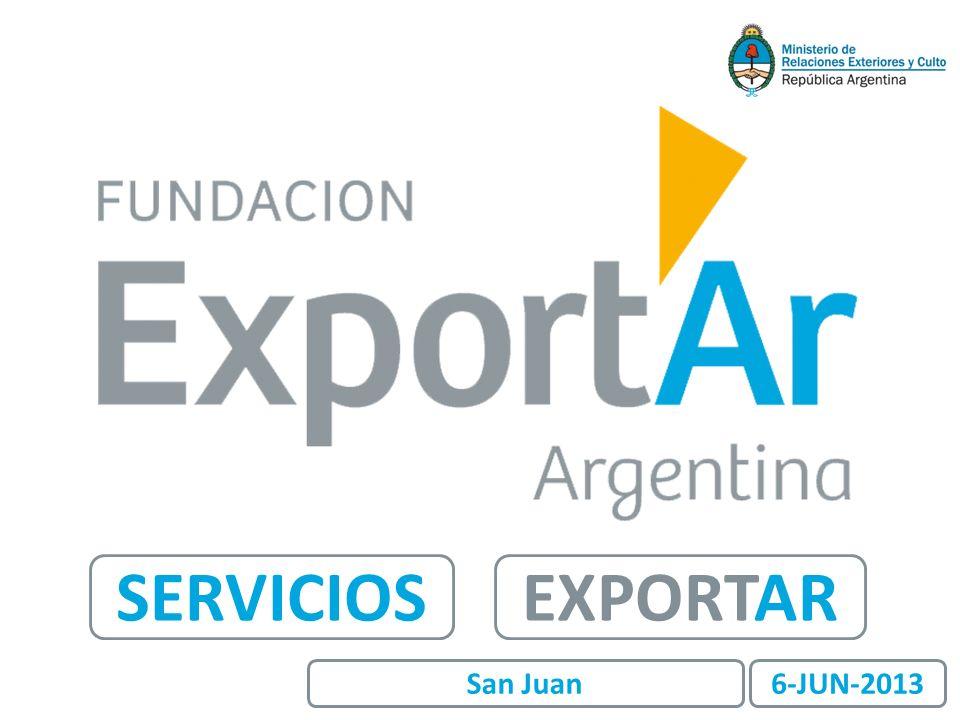 EXPORTARSERVICIOS 6-JUN-2013San Juan