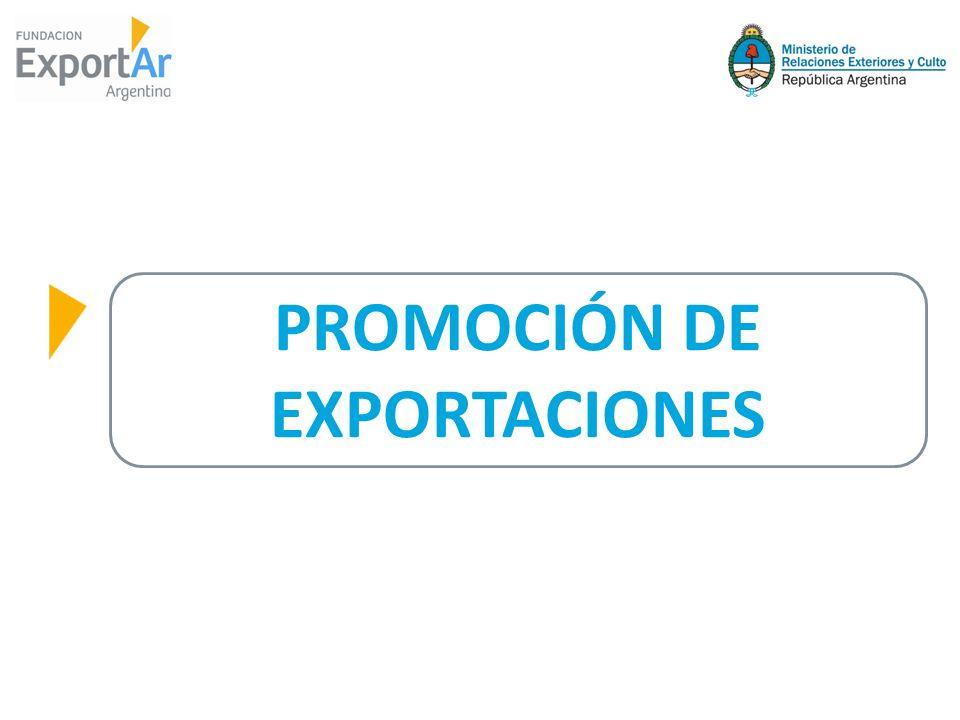 MOI EXPORTACIONES PROMOCIÓN DE SECTORES MOA - ALIMENTOS BIENES CULTURALES SERVICIOS