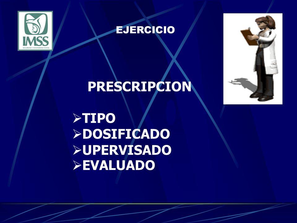 EJERCICIO PRESCRIPCION TIPO DOSIFICADO UPERVISADO EVALUADO