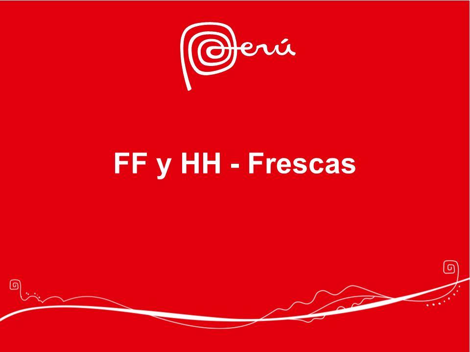 FF y HH - Frescas