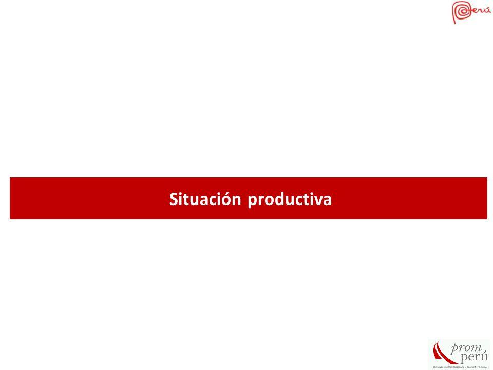 SECTOR AGRICOLA PERU: TOTAL DE CULTIVOS SEMBRADOS AL 2011 3,089,272 (has) CULTIVOS PERMANENTES: 997,888 (has) CULTIVOS TRANSITORIOS: 2,091,384 (has) Fuente: Minag / Elaboracion: Promperu