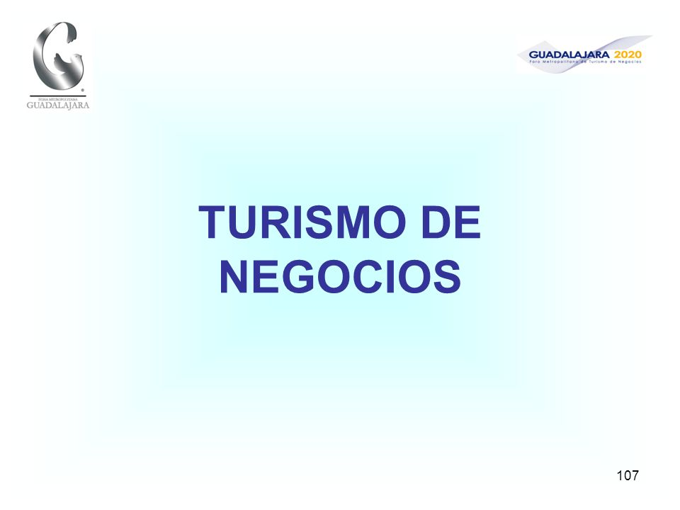107 TURISMO DE NEGOCIOS