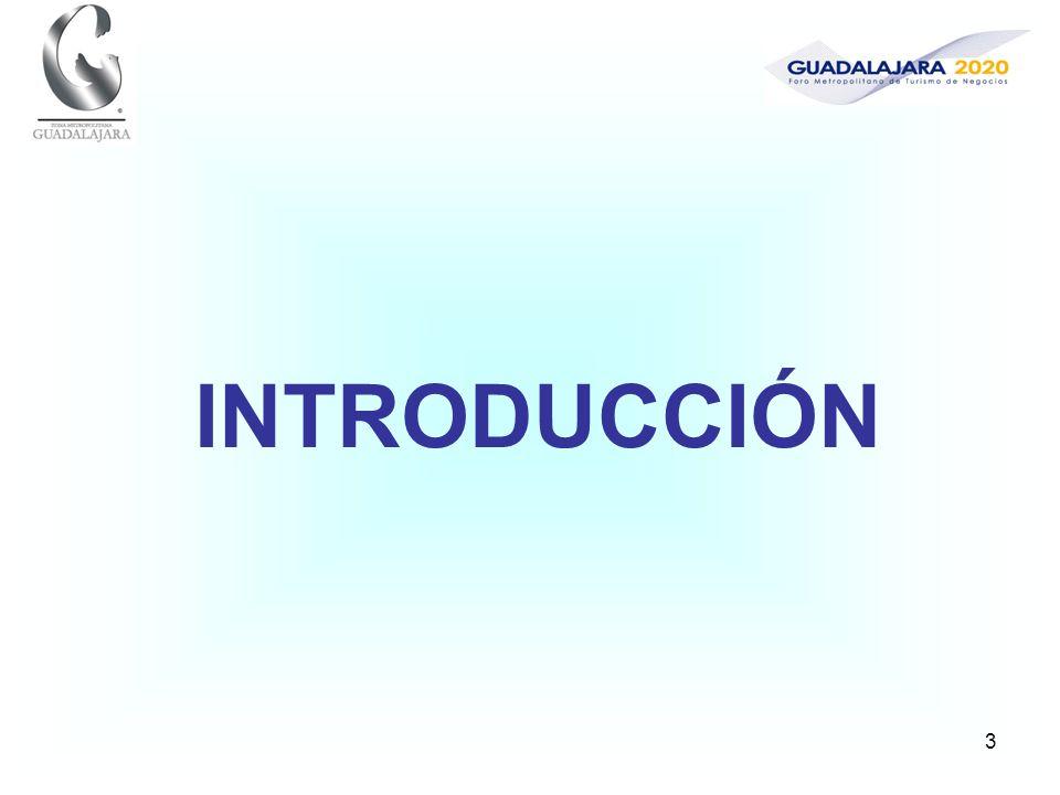 4 La presente encuesta surge como resultado de los trabajos del Foro Metropolitano de Turismo de Negocios Guadalajara 2020, organizado por Expo Guadalajara, la Oficina de Convenciones y Visitantes de Guadalajara, la Secretaría de Turismo del Gobierno del Estado de Jalisco, el Fideicomiso de Promoción Turística de la Zona Metropolitana de Guadalajara, y la Asociación de Hoteles y Moteles del Estado de Jalisco, y de la elaboración del Plan de Turismo de Negocios Guadalajara 2020 que a partir de este foro se encuentra en desarrollo.