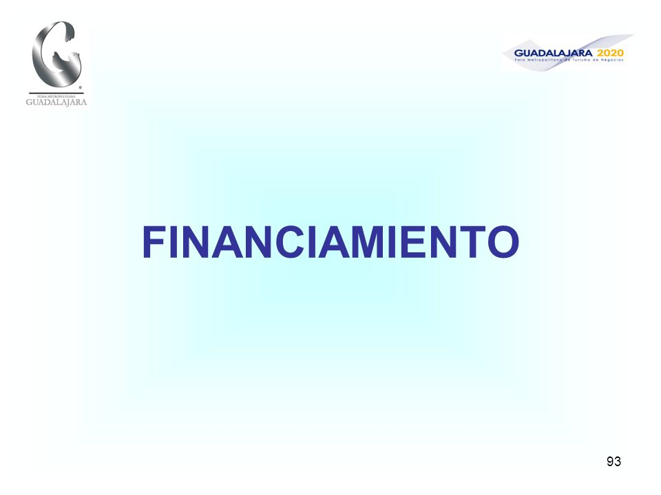 93 FINANCIAMIENTO