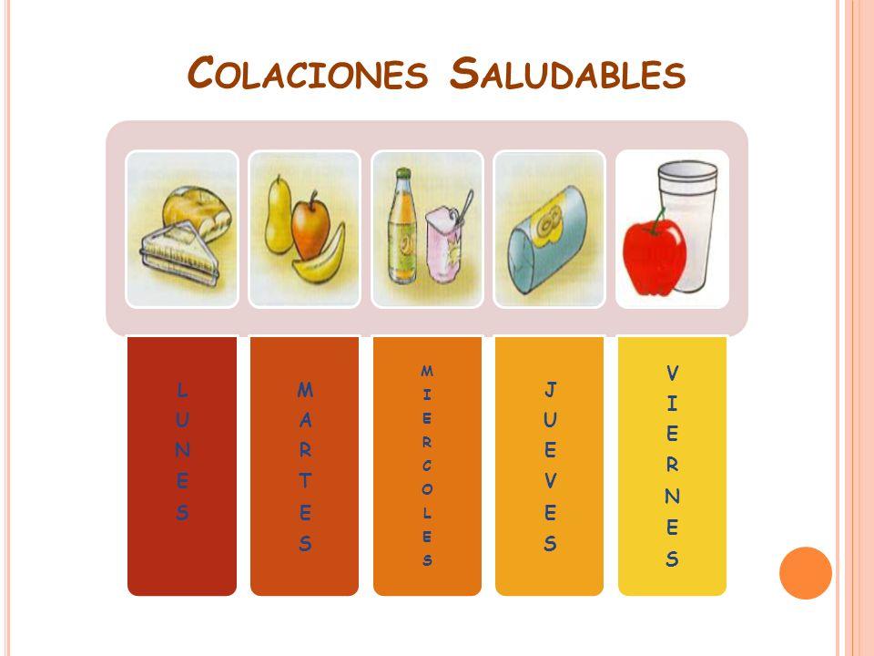 C OLACIONES S ALUDABLES