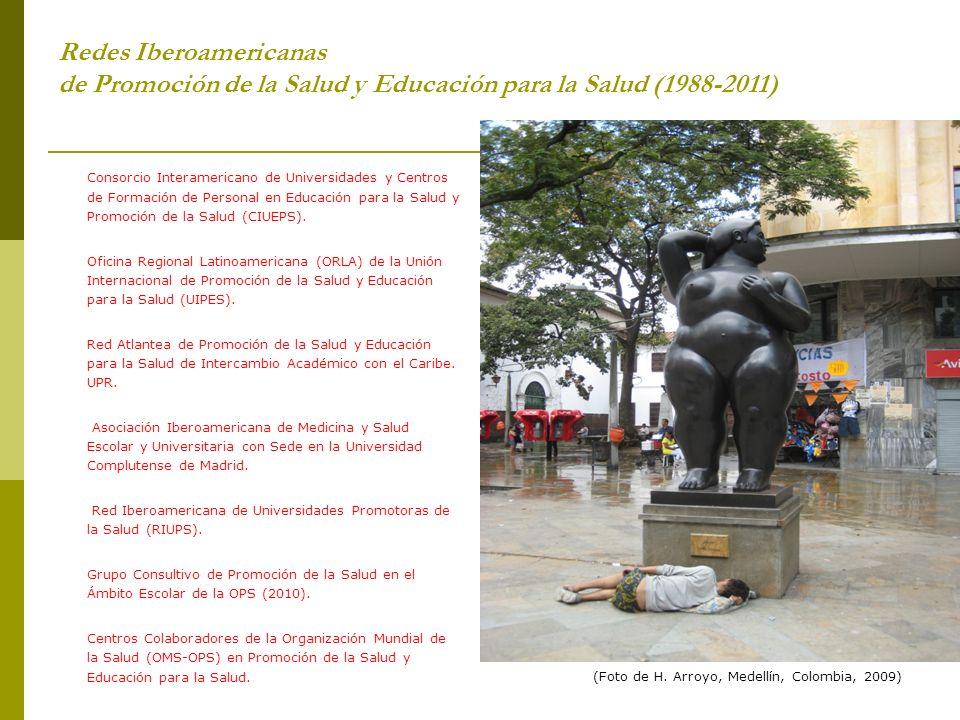 Redes Iberoamericanas de Promoción de la Salud y Educación para la Salud (1988-2011) Consorcio Interamericano de Universidades y Centros de Formación