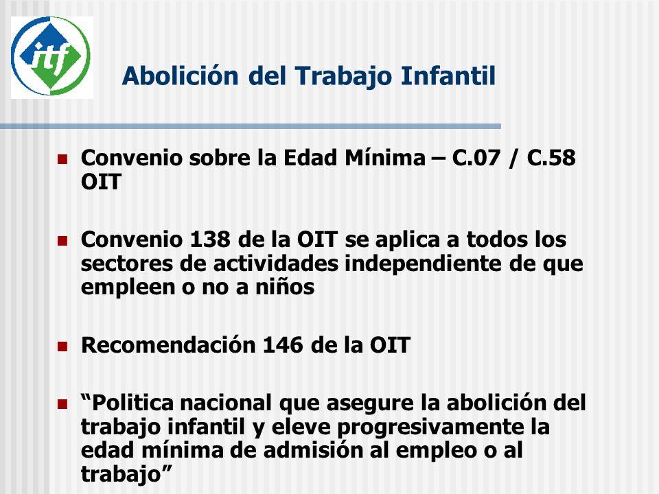 Contacto Oficina Regional de la ITF: Av.