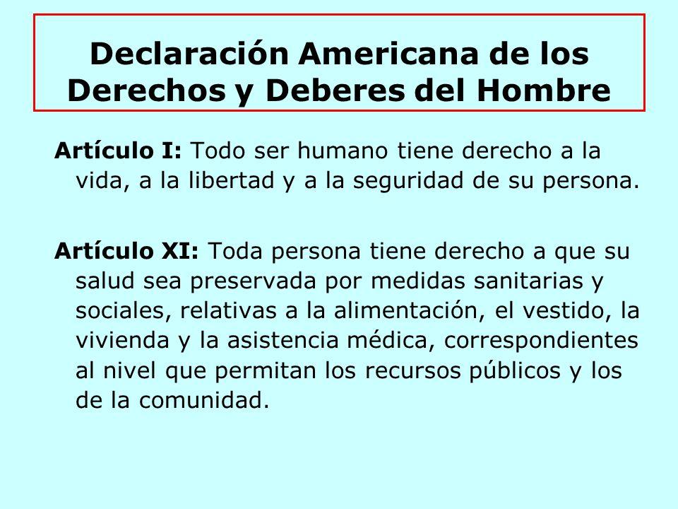 Artículo 5: Derecho a la Integridad Personal 1.
