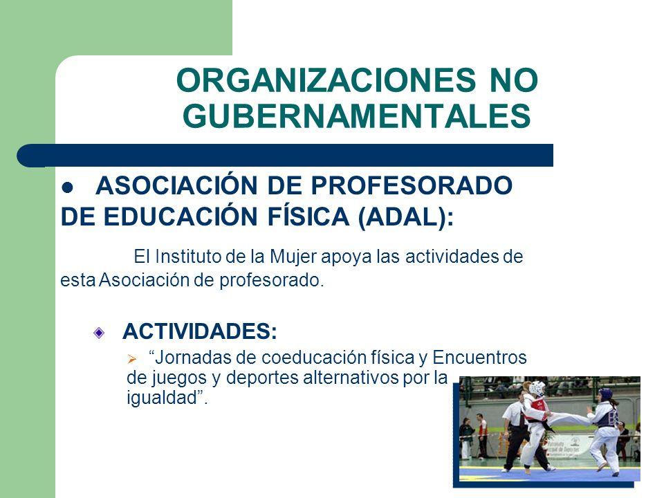 COMITÉ OLÍMPICO ESPAÑOL ACCIONES Y ACTIVIDADES (Cont.): Premios Mujer y Deporte. Jornadas Mujer y Deporte. Estudio sobre la situación del deporte feme