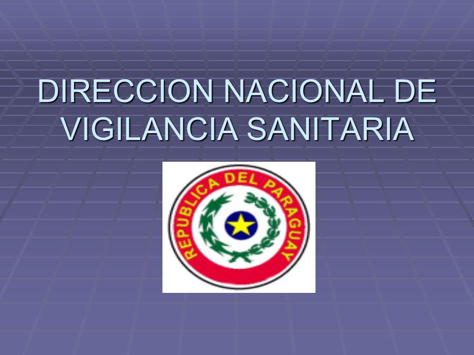 DIRECCION NACIONAL DE VIGILANCIA SANITARIA