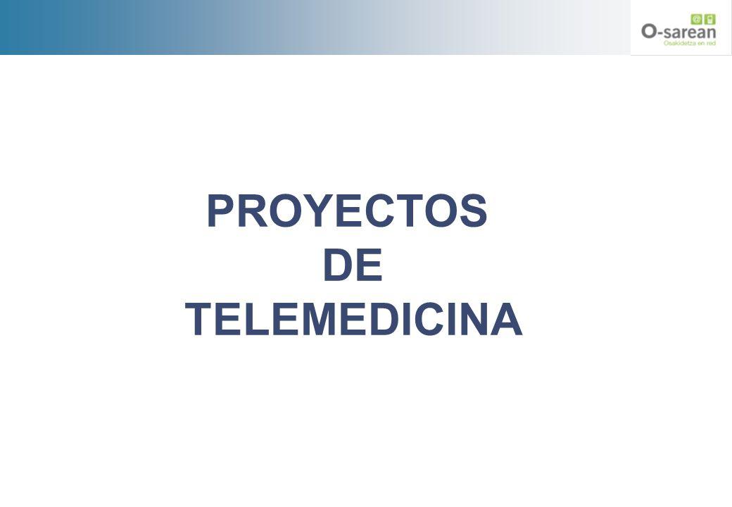 PROYECTOS DE TELEMEDICINA