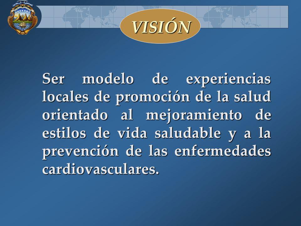 Experiencia del Programa de Promoción de Estilos de Vida Saludable PROEVISA