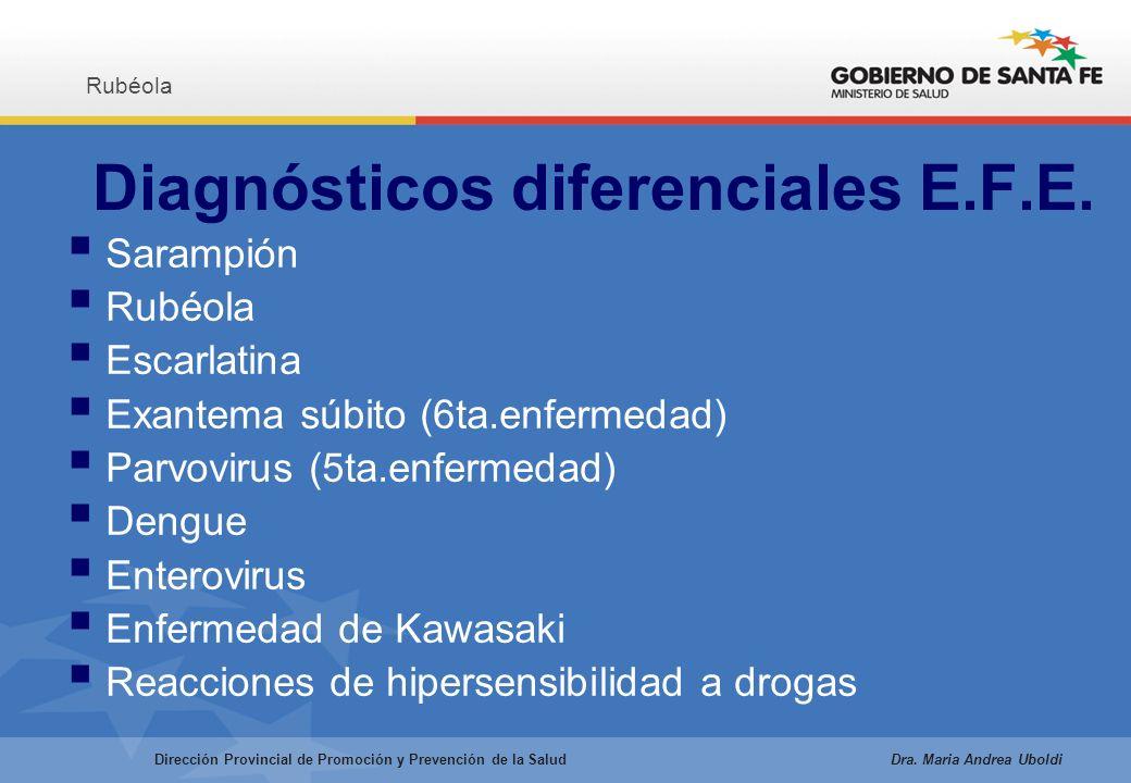 Diagnósticos diferenciales E.F.E.