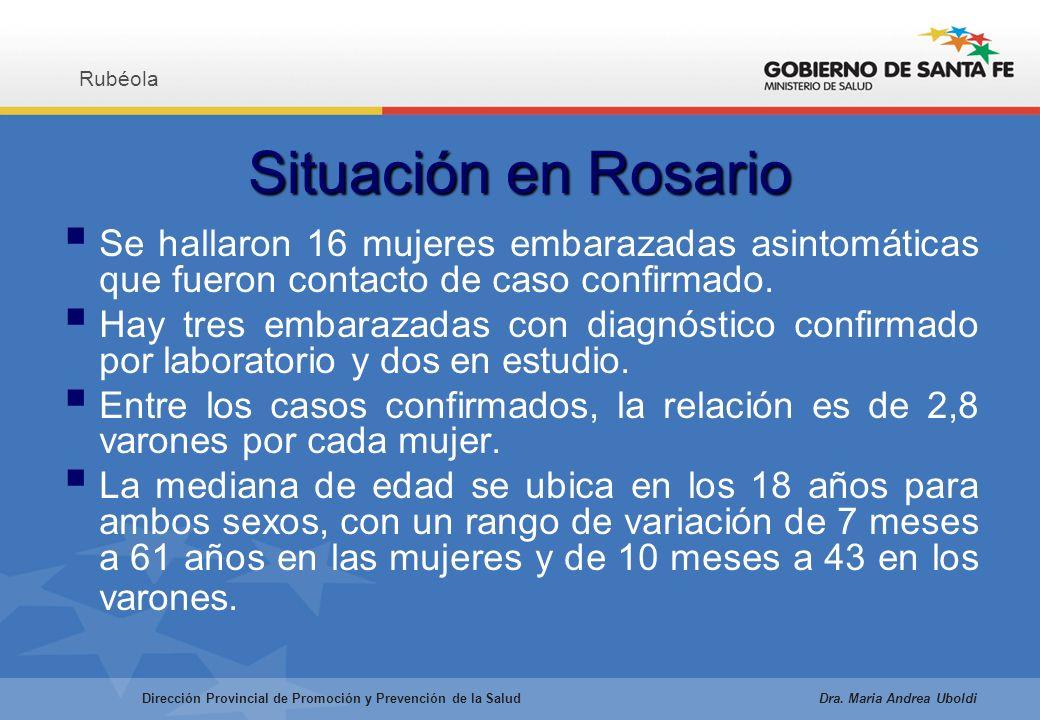 Situación en Rosario Se hallaron 16 mujeres embarazadas asintomáticas que fueron contacto de caso confirmado.