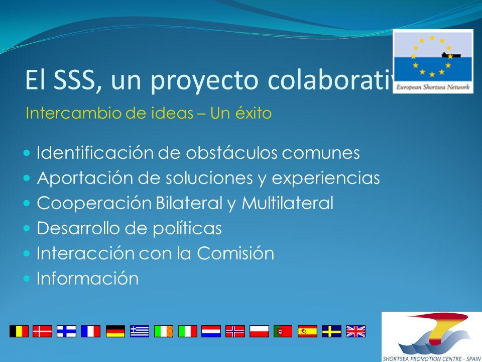 El SSS, un proyecto colaborativo Identificación de obstáculos comunes Aportación de soluciones y experiencias Cooperación Bilateral y Multilateral Des