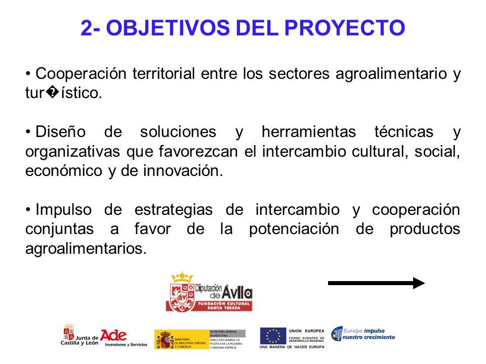 Cooperación territorial entre los sectores agroalimentario y tur ístico. Diseño de soluciones y herramientas técnicas y organizativas que favorezcan e