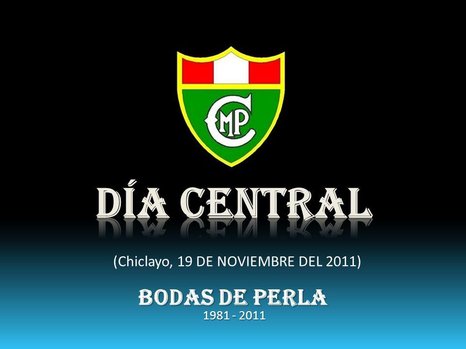 (Chiclayo, 19 DE NOVIEMBRE DEL 2011) BODAS DE PERLA 1981 - 2011
