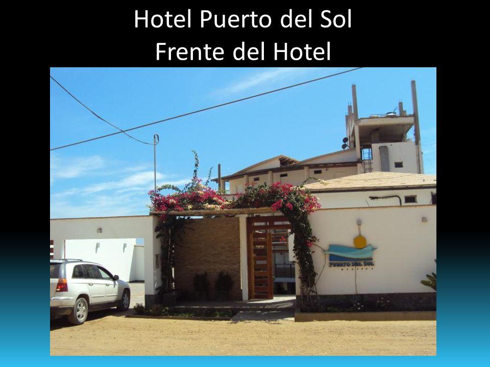 Hotel Puerto del Sol Frente del Hotel