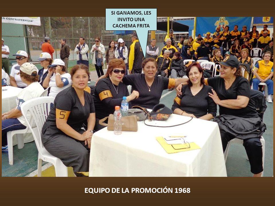 EQUIPO DE LA PROMOCIÓN 1967 A